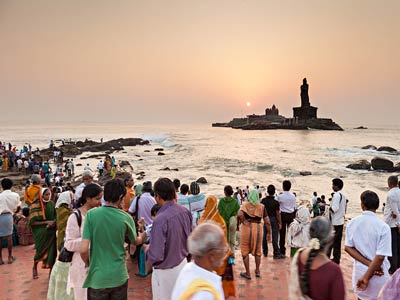 India Yoga Retreat - Kanyakumari
